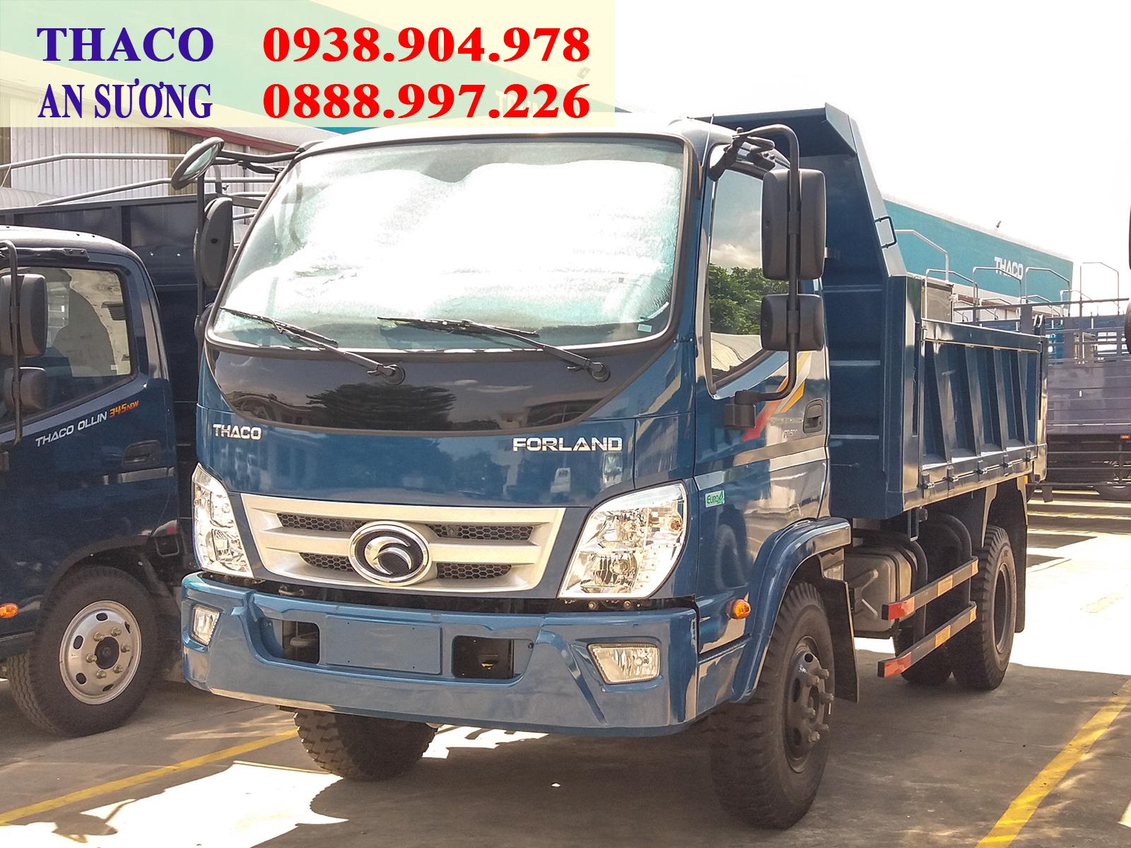 Xe ben Forland FD500 tải trọng 4.99 tấn