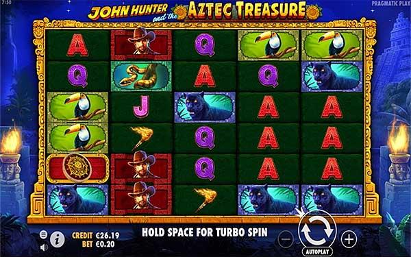 Main Gratis Slot Indonesia - John Hunter and the Aztec Treasure (Pragmatic Play)