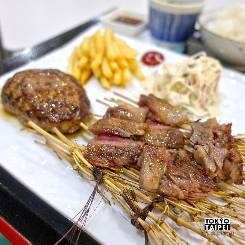 【肉's Kitchen北內】專賣牛肉的餐廳 漢堡排和燒肉都是肉味十足
