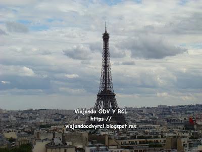 Que hacer, a donde ir, que visitar en Paris. La Torre Eiffel