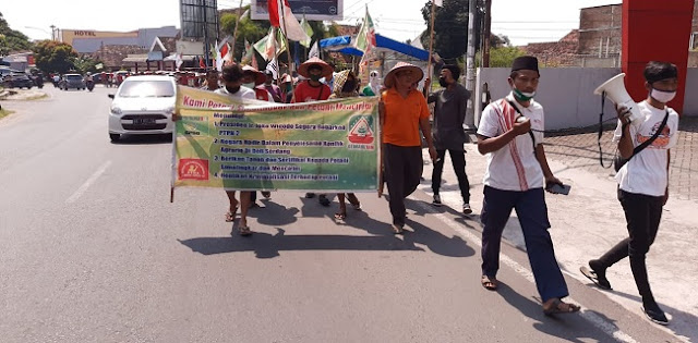 Mahasiswa Banten Akan Sambut Kedatangan Aksi Jalan Kaki Petani Dari Sumatera Utara