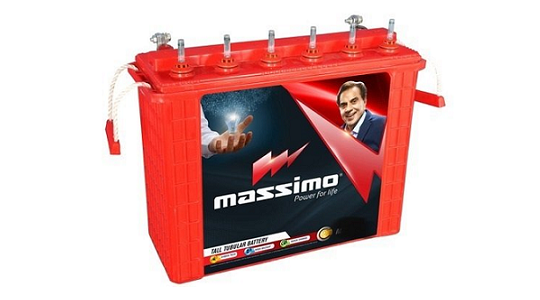 Massimo MIT2500 200Ah Tubular Battery