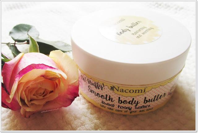Masło do ciała Miodowe Gofry Nacomi