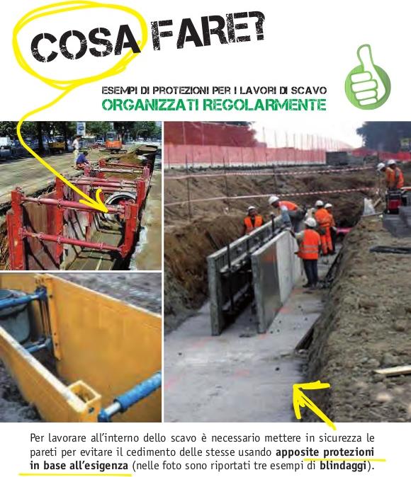 Protezione degli scavi in trincea: sicurezza in cantiere
