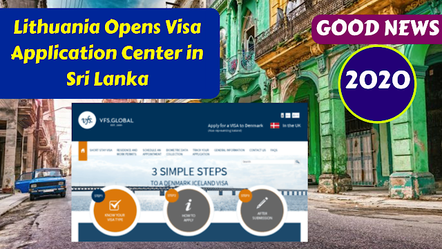 VFS Global,Lithuania Opens Visa Application Center in Sri Lanka
