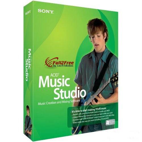 SONY ACID Music Studio 10.0 with crack