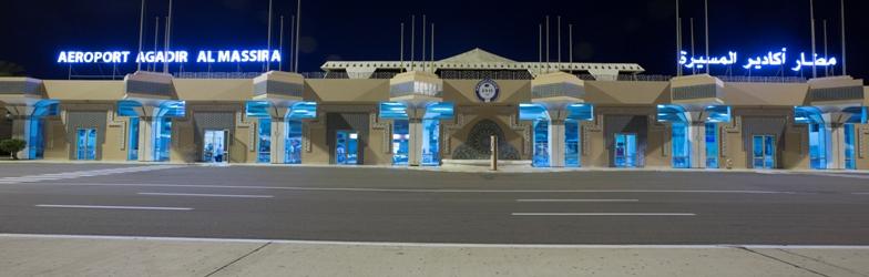 مطار أغادير أكادير المسيرة الدولي Agadir–Al Massira Airport