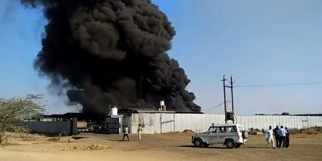 MANDSAUR: भाजपा नेता की टायर फैक्ट्री में ब्लास्ट, 4 जिंदा जल गए, 50 घायल | MP NEWS