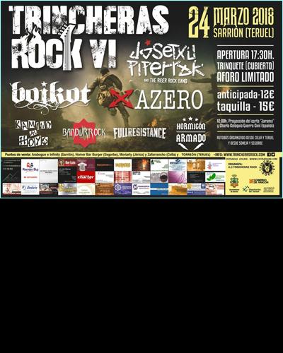 Sorteo Pack Trincheras Rock VI