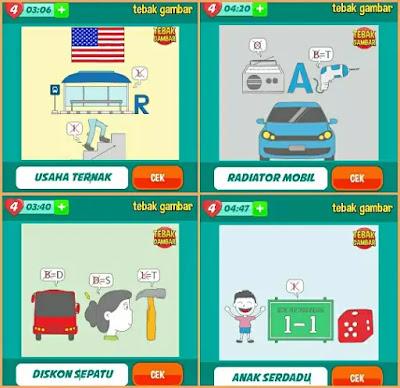 Jawaban tebak gambar level 54 nomor 13-16