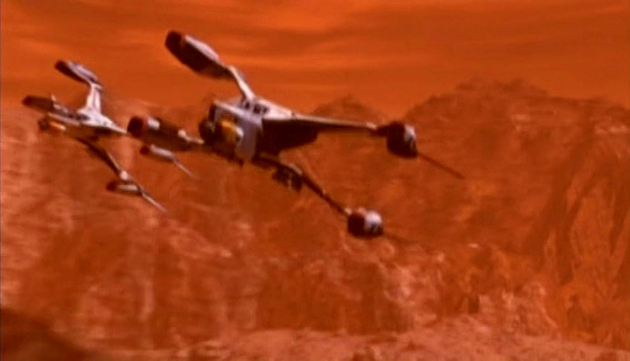 Mars in Babylon 5 - Land Alliance fighters