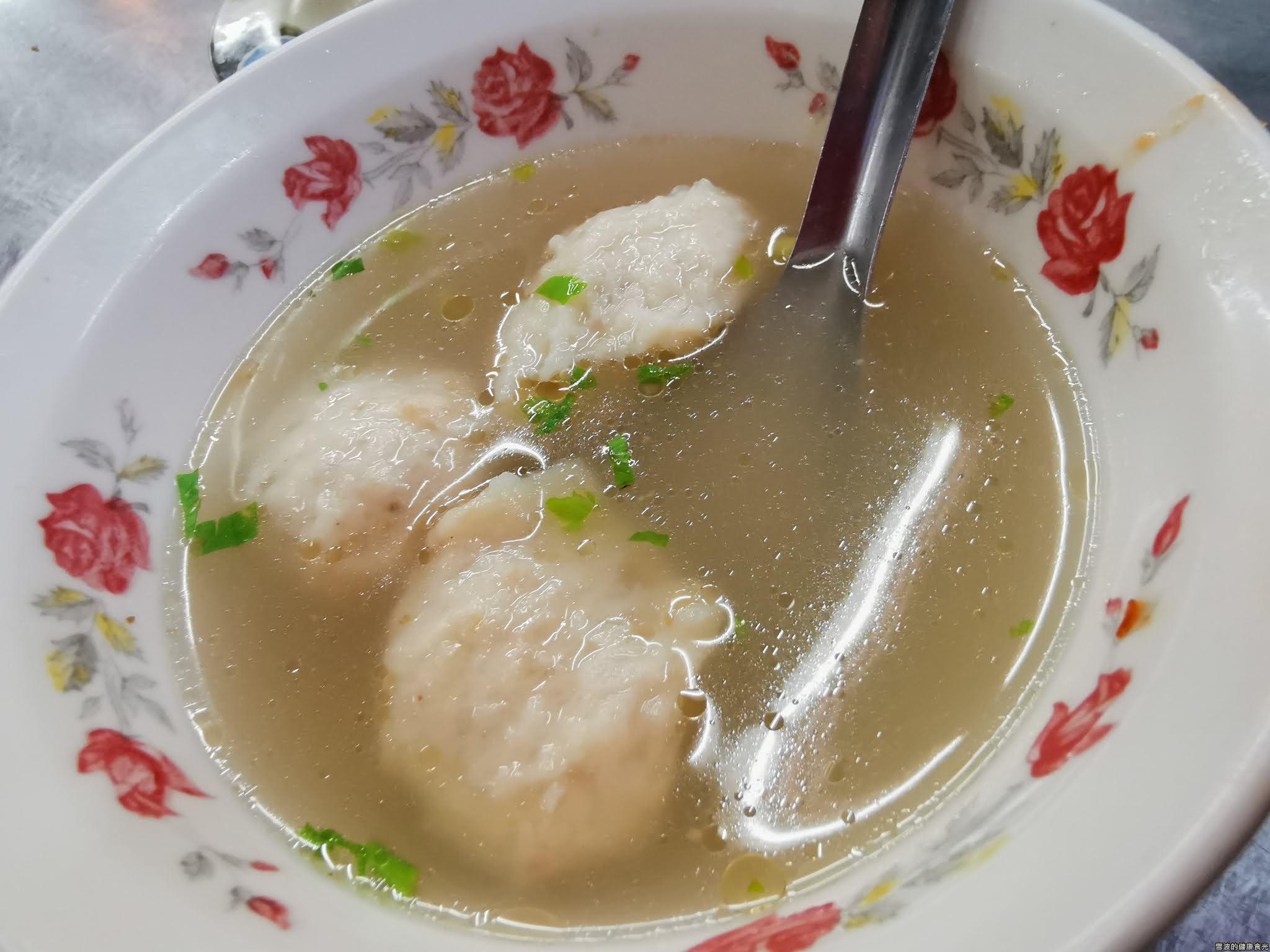 阿本燒賣 魚丸湯