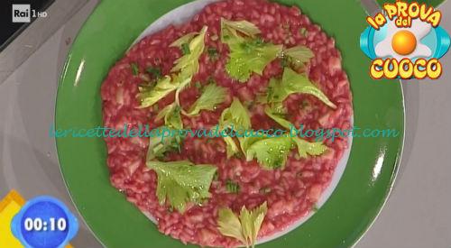 Risotto alla rapa rossa e caciocavallo ricetta Bottega da Prova del Cuoco