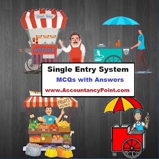 Single Entry System - MCQs with Answers