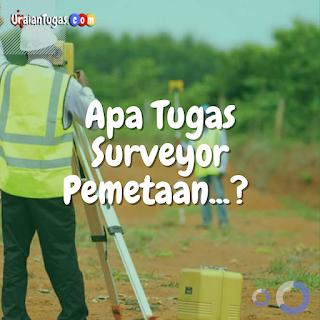 Tugas Surveyor Pemetaan
