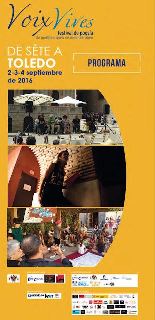 Programa del Festival Voix Vives 2016