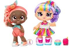 Новые куклы малышки Kindi Kids Snack Time Friends Rainbow Kate, Summer Peaches и игровые наборы для девочек