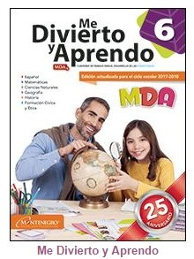 MDA 6 Me Divierto y Aprendo 6 Bloque 3