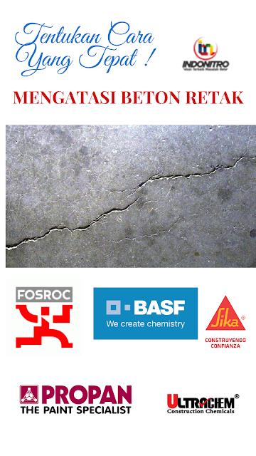 Cara mengatasi beton retak dan langkah pencegahan agar beton tidak retak
