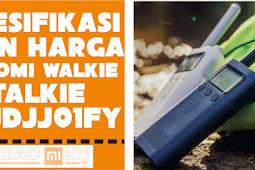 [REVIEW] Spesifikasi Xiaomi Walkie Talkie MJDJJ01FY