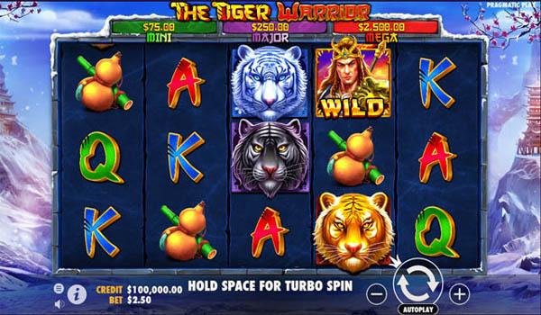 Main Gratis Slot Indonesia - The Tiger Warrior (Pragmatic Play)