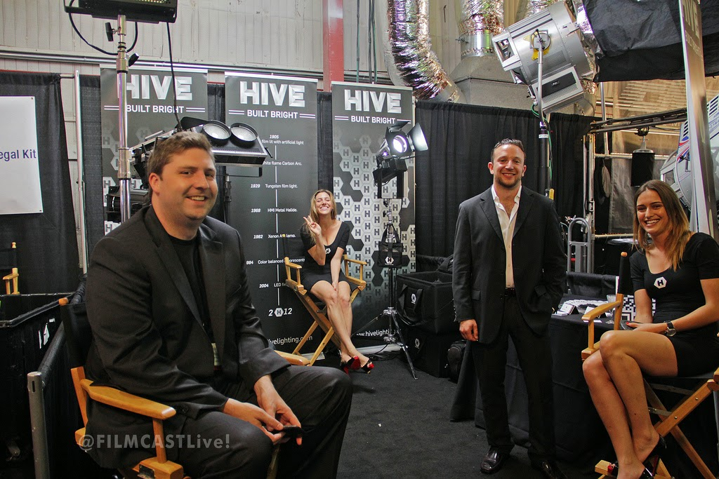 Hive Lighting Cine Gear Expo   ©george leon still & motion