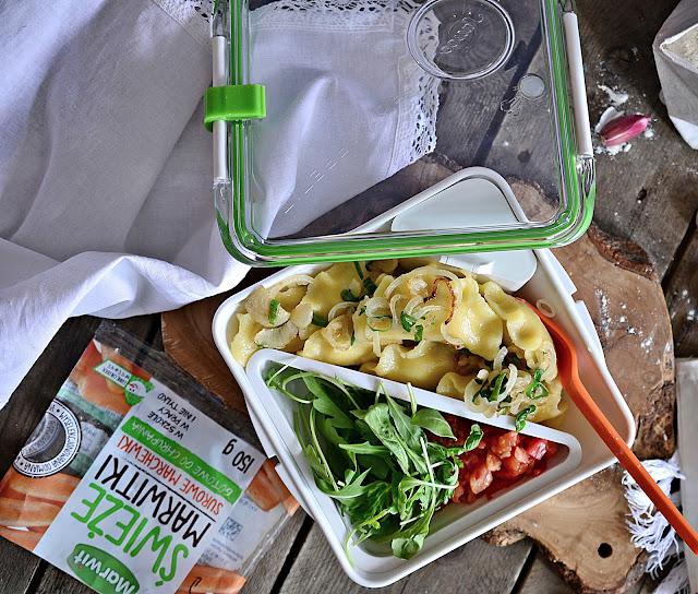 Zdrowy lunch czyli bezglutenowe pierogi z indykiem i warzywami