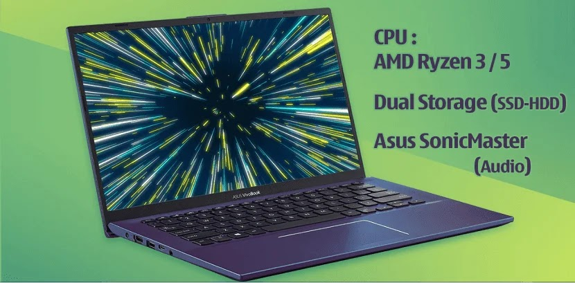 Asus VivoBook A412DA, Laptop Ultra Tipis dan Colorful