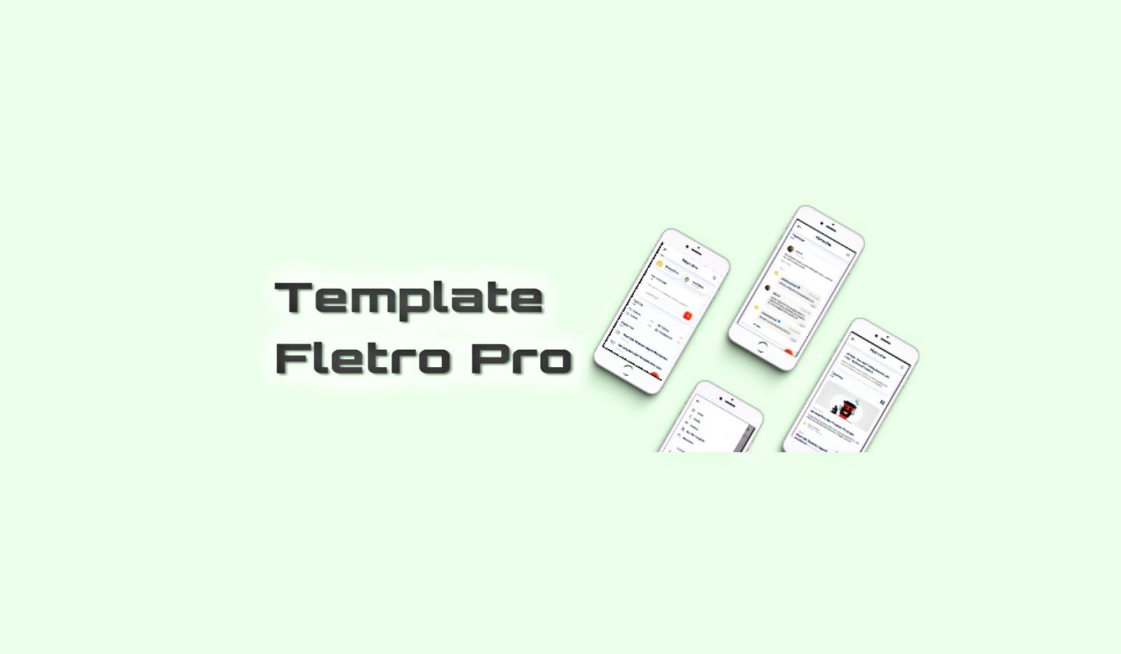 Fletro template blogger terbaik