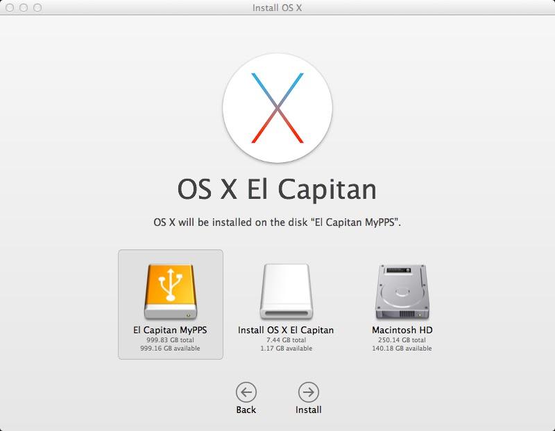 redownload el capitan app store