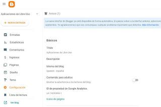Favicon con nueva intezfaz de Blogger