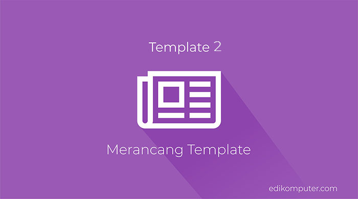 Tutorial membuat web dengan codeigniter - merancang template admin part 2