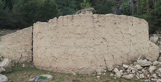 Base de horno de calcinación, Mina Mame, La Arboleda, Bizkaia