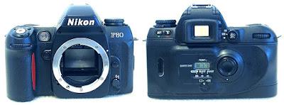 Nikon F80D (Black) Body #229