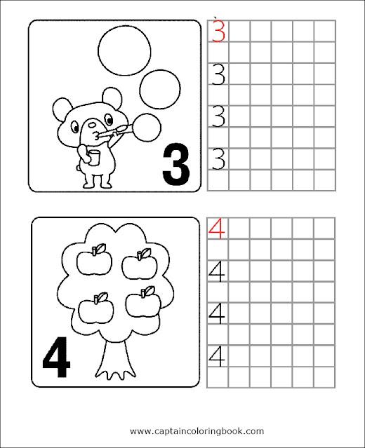 Number Worksheets Preschool