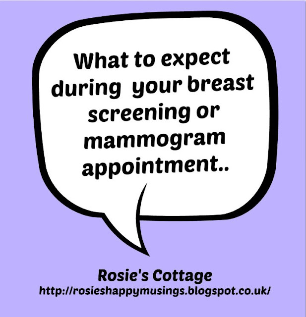 What to expect during your breast screening or mammogram appointment