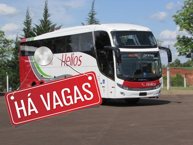 Helios transportes abre vagas para Manobrista Rodoviário