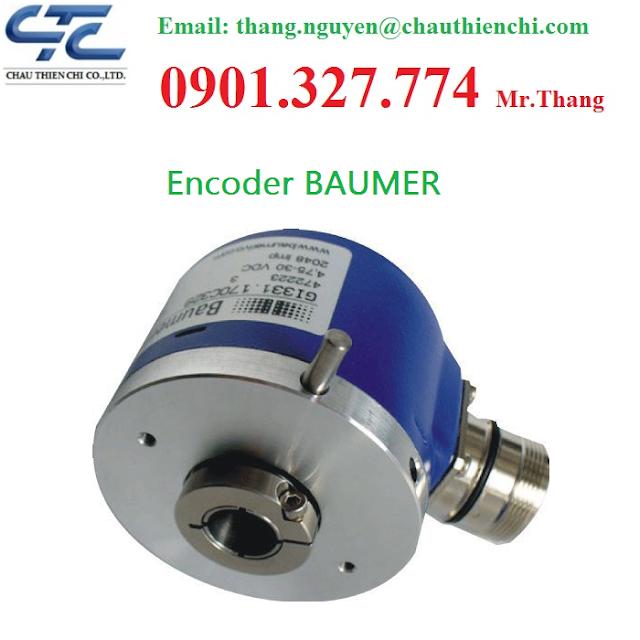 Nhà cung cấp Encoder Baumer - Bộ mã Hóa Baumer