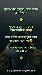Sad shayari in Bengali