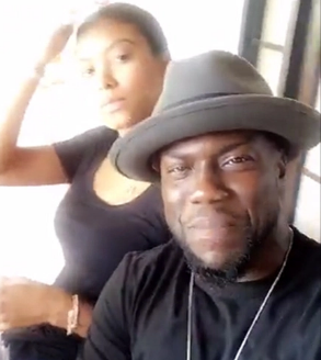 """There is absolutely no divorce talk."" - Eniko is standing by her man, Kevin Hart"