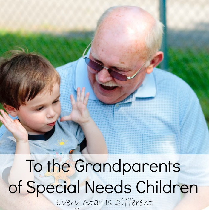To the Grandparents of Special Needs Children