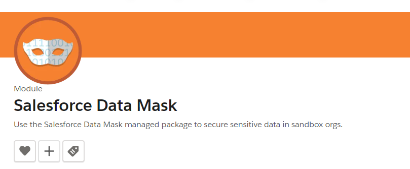 Salesforce Data Mask