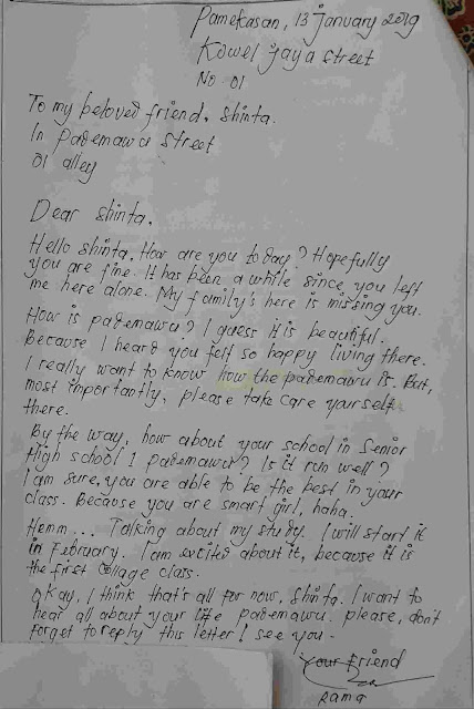 personal letter