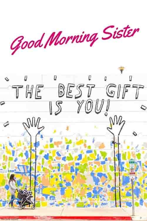 good morning sister card