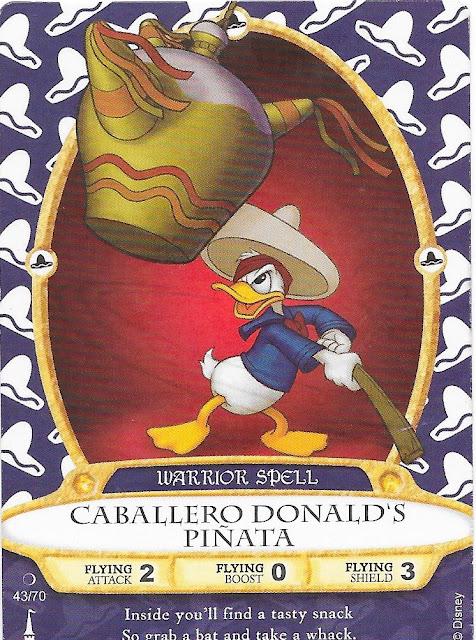 Caballero Donald's Piñata Spell Card 43/70
