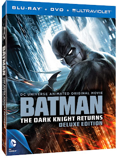 'Batman: The Dark Knight Returns Deluxe Edition' - DVD Release