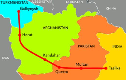TAPI pipeline map