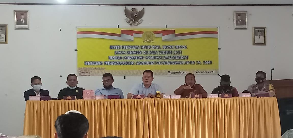 Anggota Dewan Dapil I Gelar Reses di Kecamatan Mappedeceng
