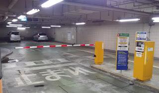 地下駐車場のバーが上がらないんだよね