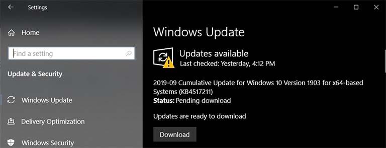 Pembaruan Juga Menyambangi Windows 10 Versi 1903 Menjadi Build 18362.387